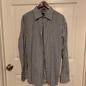 GAP button down striped shirt